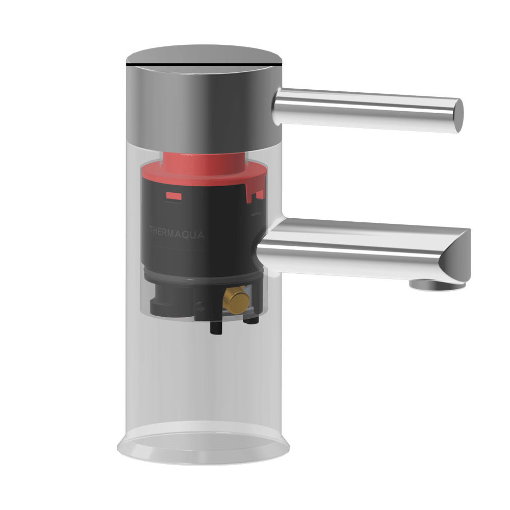 Single lever security cartridge